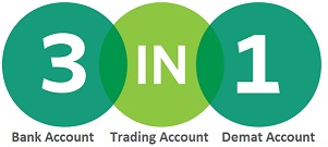 the best 3 in 1 trading account in india stock market icici hdfc