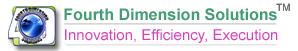 Fourth Dimension Solutions Ltd Logo