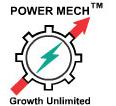 Power Mech Projects Ltd Logo