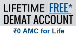 Lifetime Free Demat Account (AMC Free, No AMC, Zero AMC)