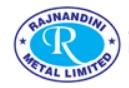 Rajnandini Metal Limited Logo