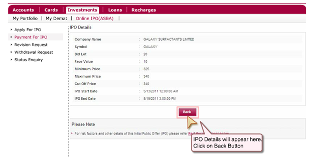 Axis Bank - Apply IPO Online