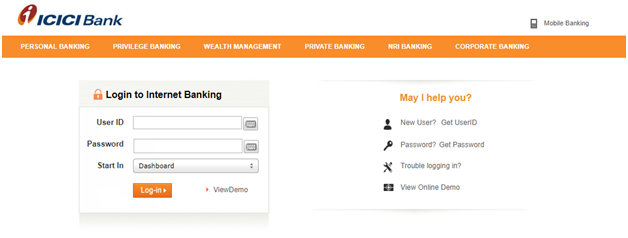 Modify IPO application in ICICI bank Demo 1