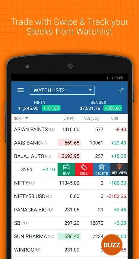 IIFL Markets Mobile App Demo 1
