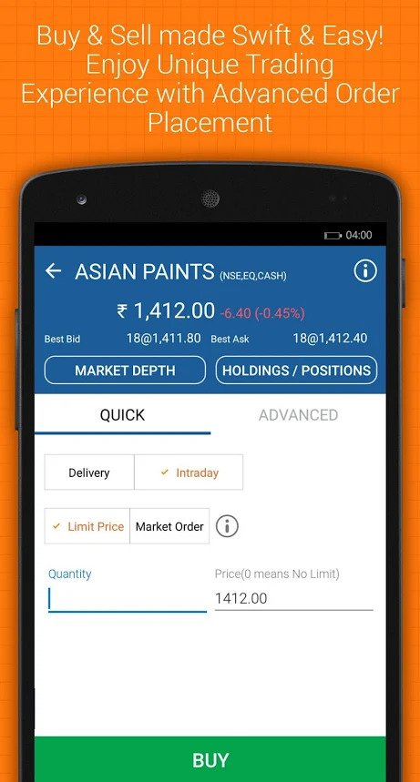 IIFL Markets Mobile App Demo 3