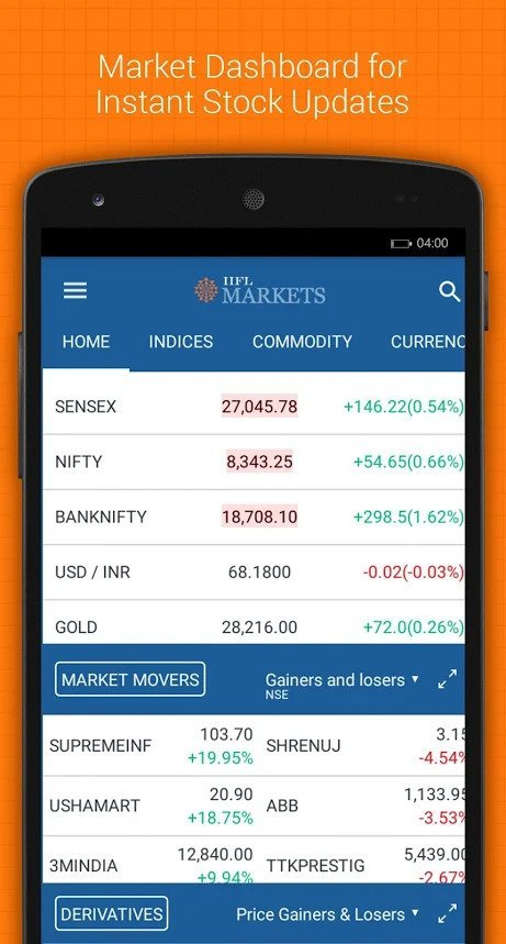 IIFL Markets Mobile App Demo 7
