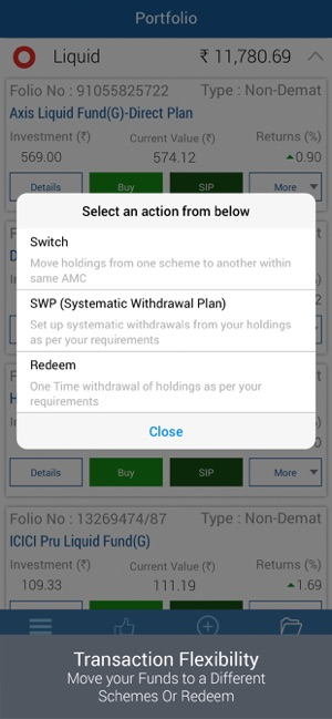IIFL Mutual Funds App Demo 8