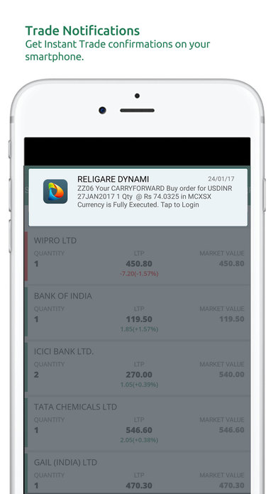 Religare Mobile App Demo 4