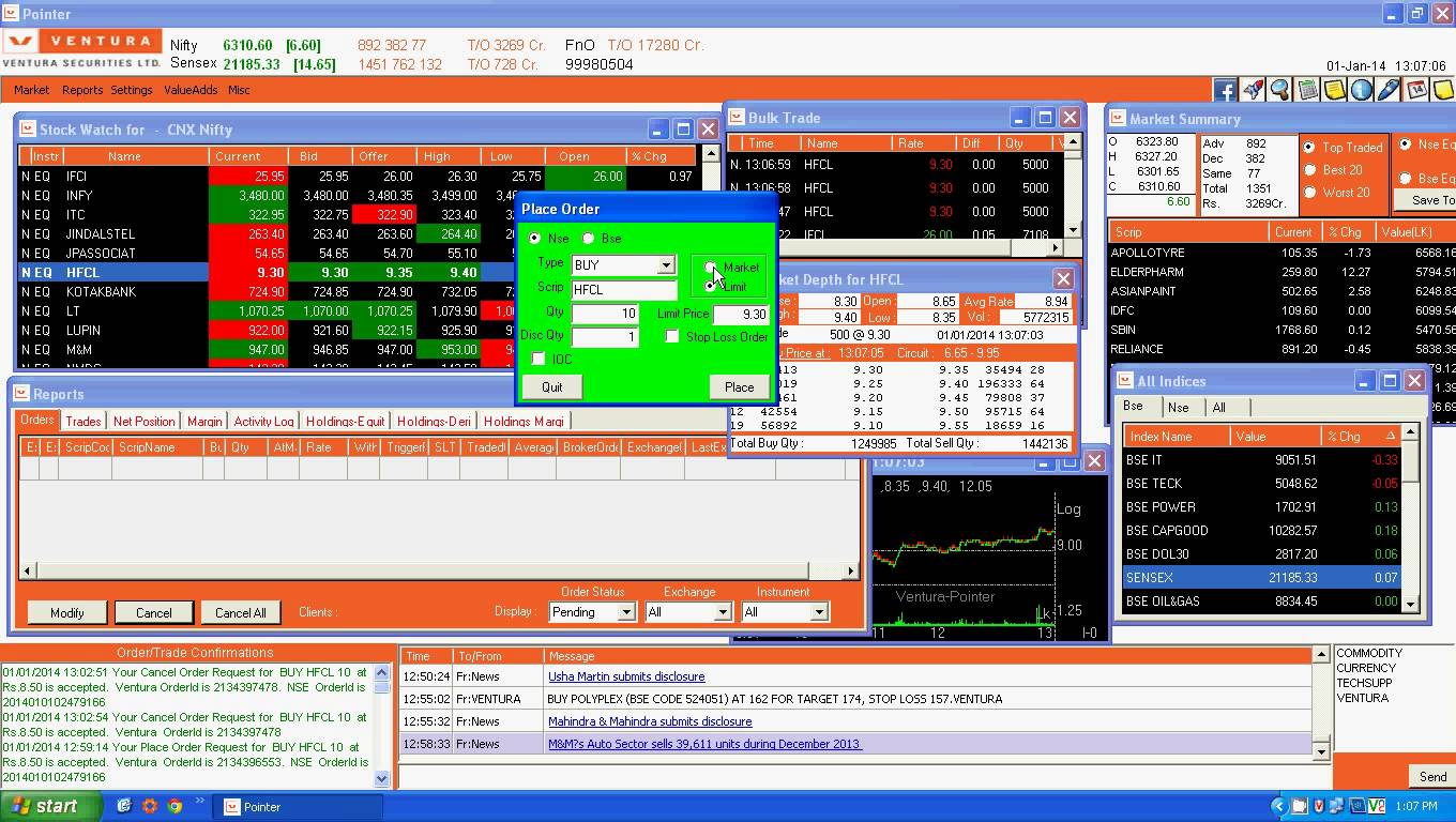 Ventura Pointer (Installable Trading Terminal)