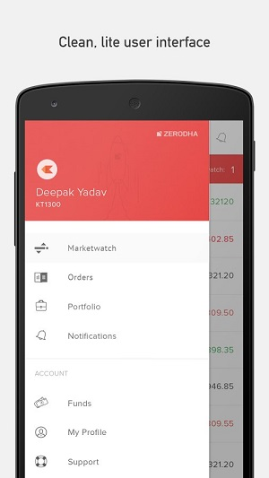 Zerodha Mobile App Kite Demo 3