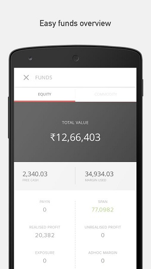 Zerodha Mobile App Kite Demo 5