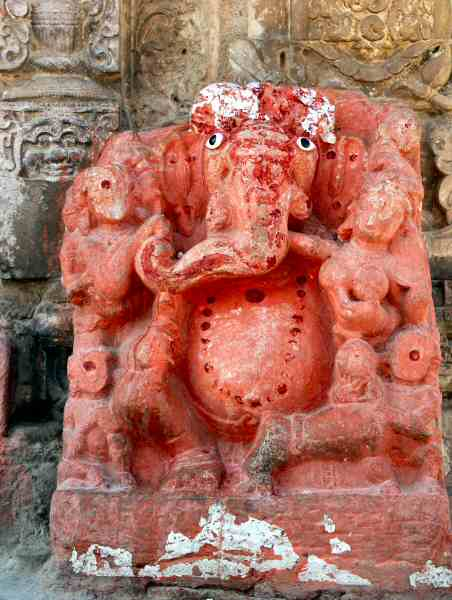 Ganesh Ji In Temple