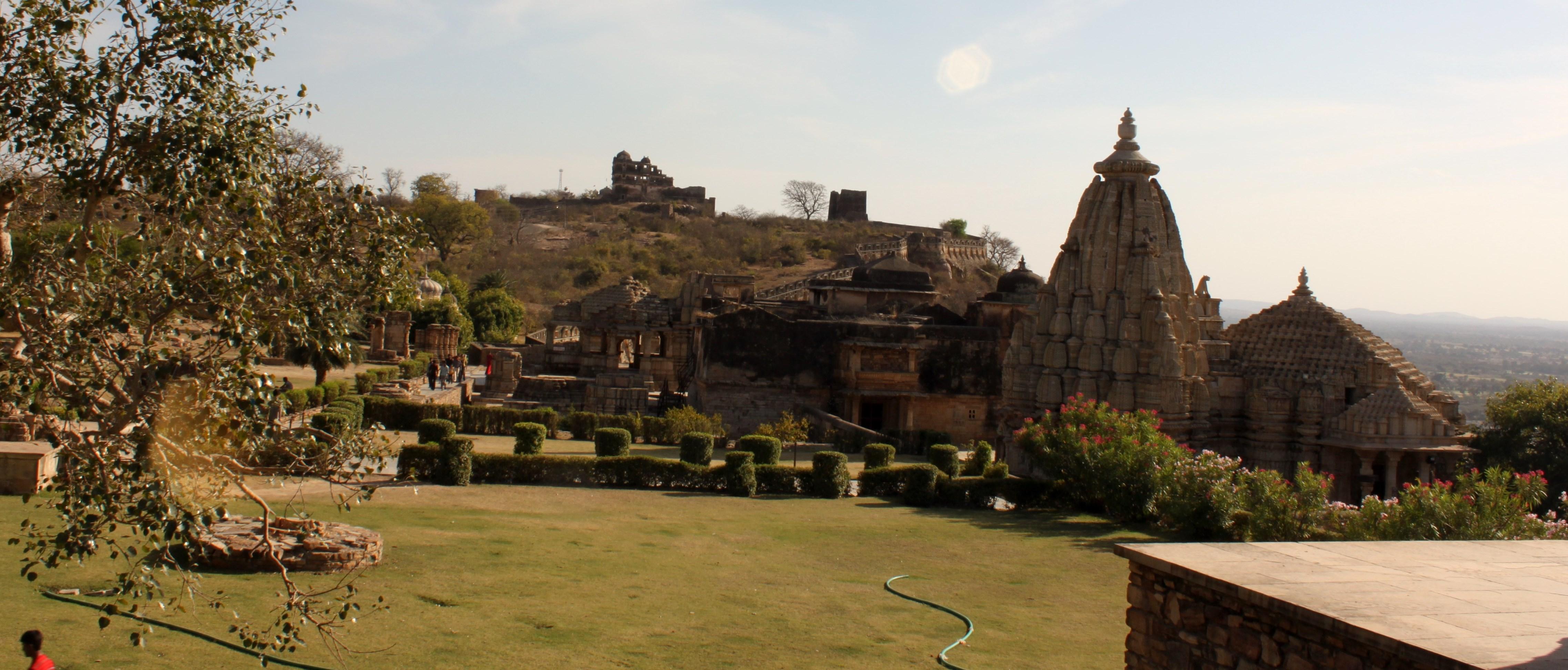 Temples around Gaumukh