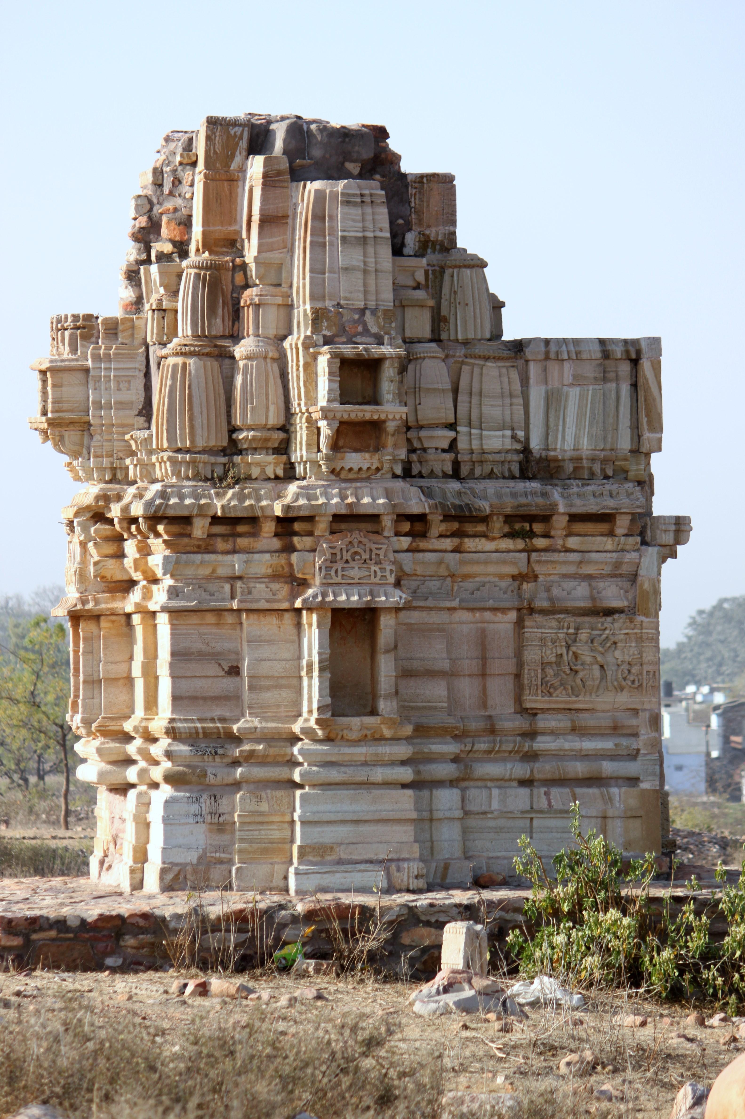 Temple in Chittorgarh Fort 1