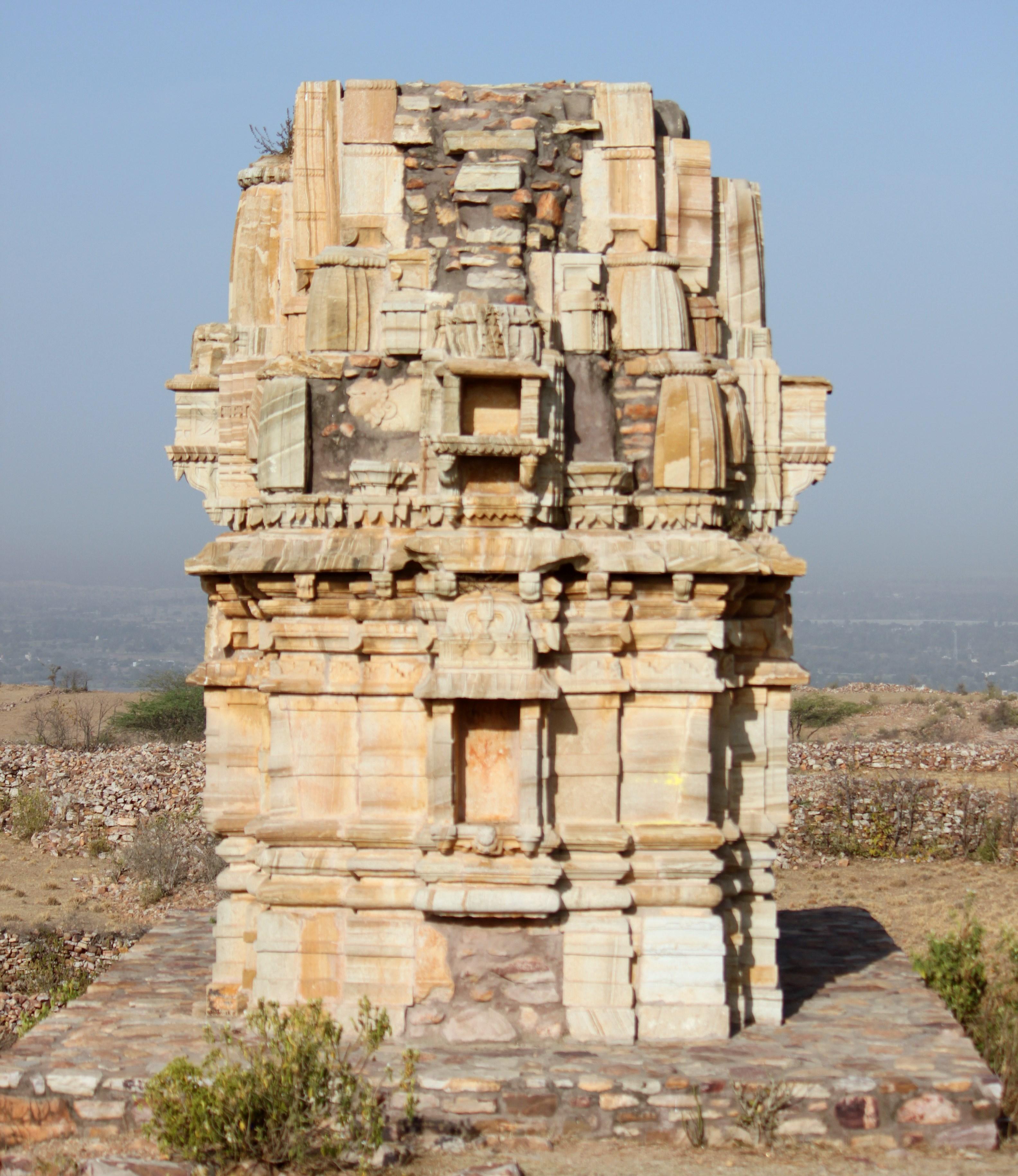 Temple in Chittorgarh Fort 2