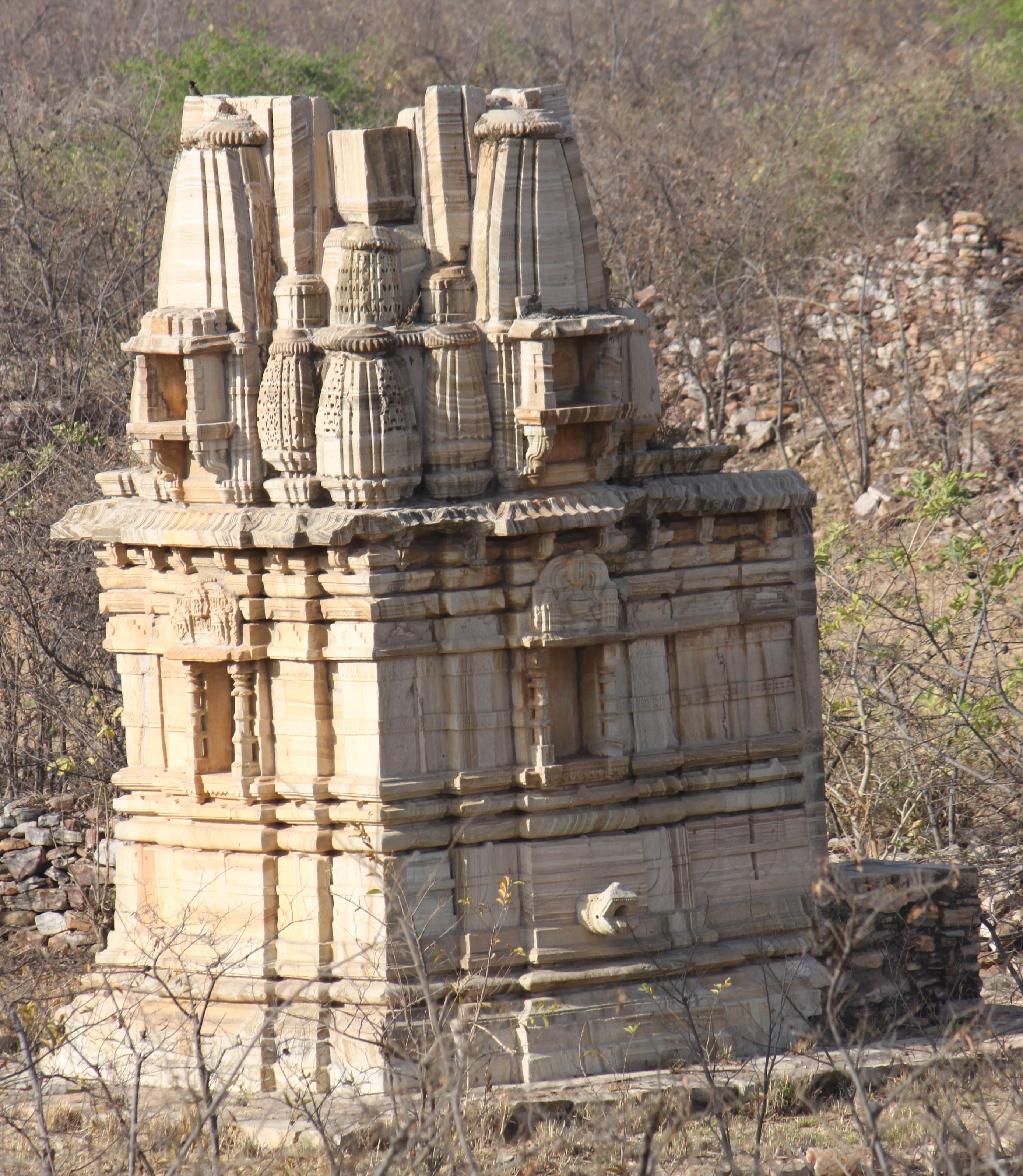 Temple in Chittorgarh Fort 3