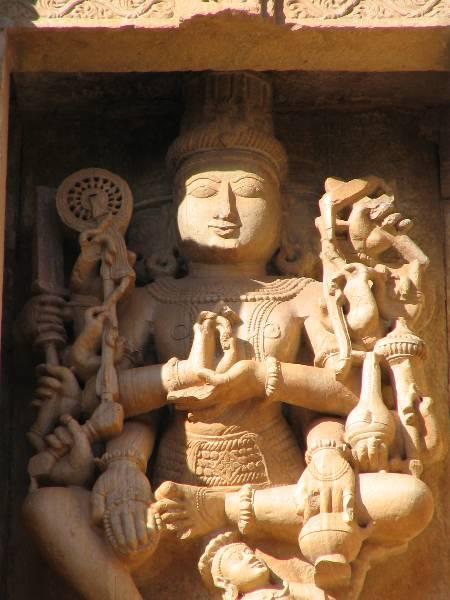 Statue in Jain Temple