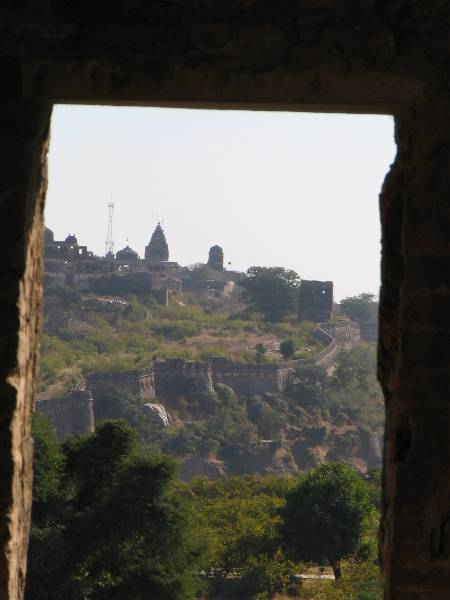 View of Kalika Mata