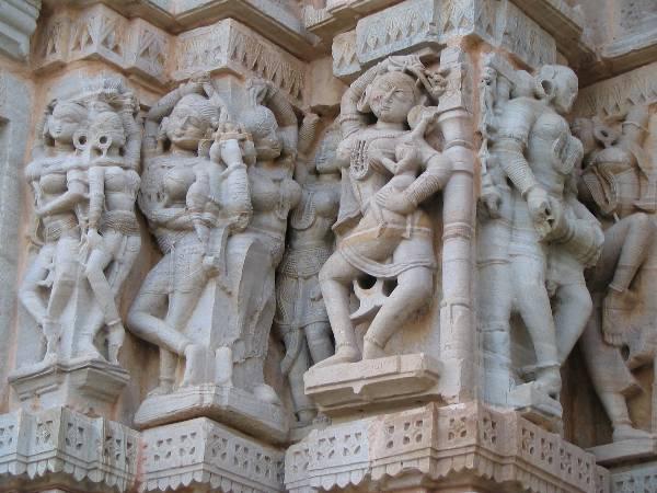 Art at Meera Temple